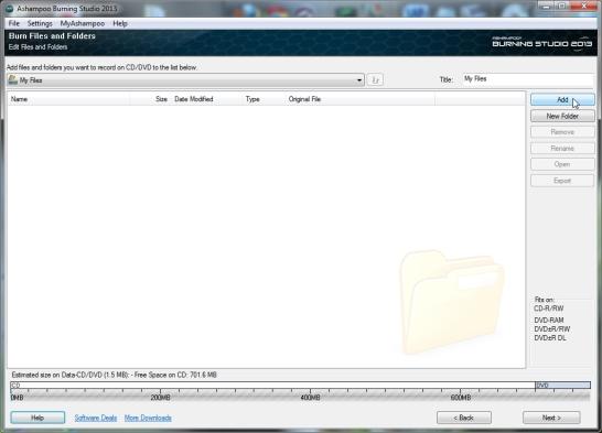 CD, DVD plaatide kirjutaja