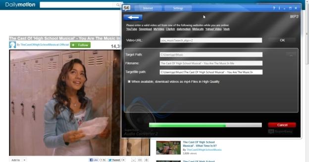 Youtube, Dailymotion jne veebilehtedelt videote arvutisse tirija.