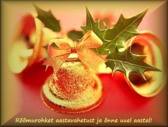 Head aastavahetust postkaart