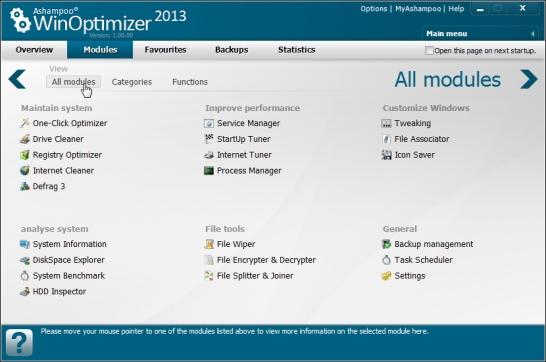Ashampoo WinOptimizer 2013 promotion
