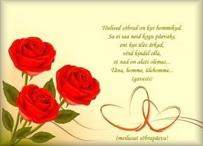 luuletusi sõpradele