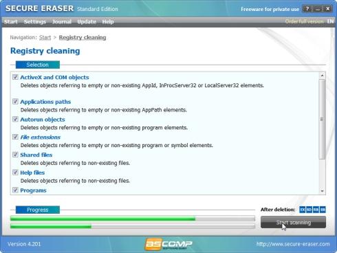 Kõvaketta puhastamine