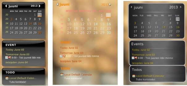 Best free calendar to desktop