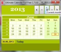 Best Calendar to desktop freeware- Year Calendar