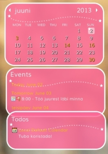 Kalenteri tietokoneella