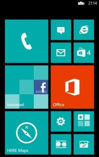 Windows Phone telefon