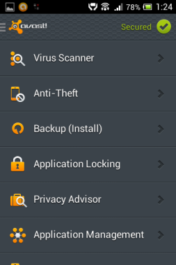 Android viirusetõrjed
