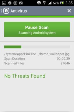 Androidile viirusetõrje
