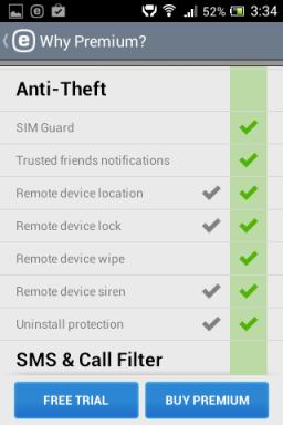 Tasuta viirusetõrje androidile