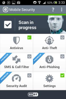 Viirusetõrje android nutitelefonile või tahvelaarvutile