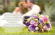Sünnipäevaks kallimale või õnnitlused pulmadeks