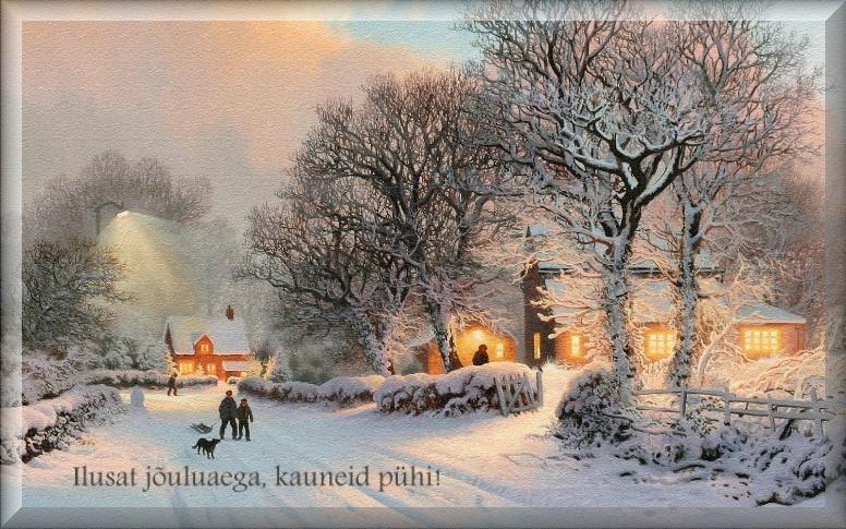 Kaardid jõuludeks saatmiseks