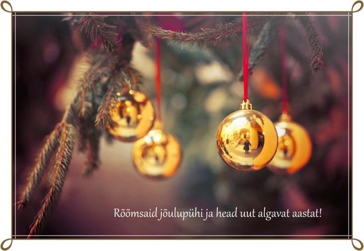 Rõõmsat jõuluaega