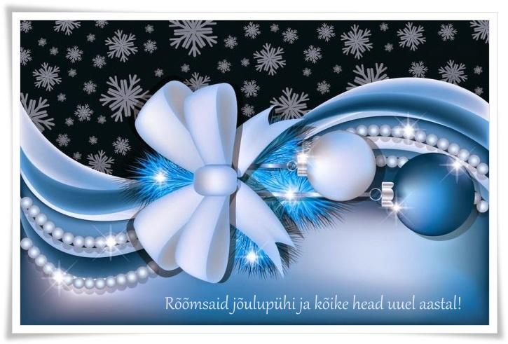 Eesti lipuvärvides jõulud