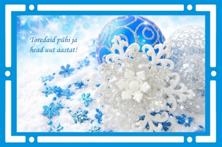 Jõulupühade tervitus