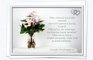Valentinipäeva luuletused ja salmid