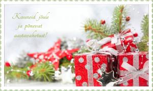 Jõululuuletused ja aastavahetuse soovid
