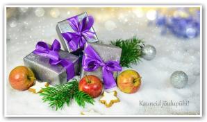 Ilusaid jõulupühi