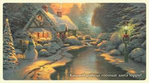 Ilusad jõulukaardid