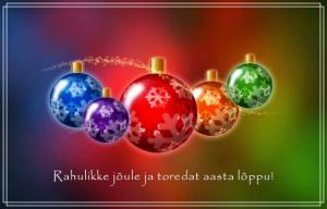 Vana aasta soovid, häid jõule